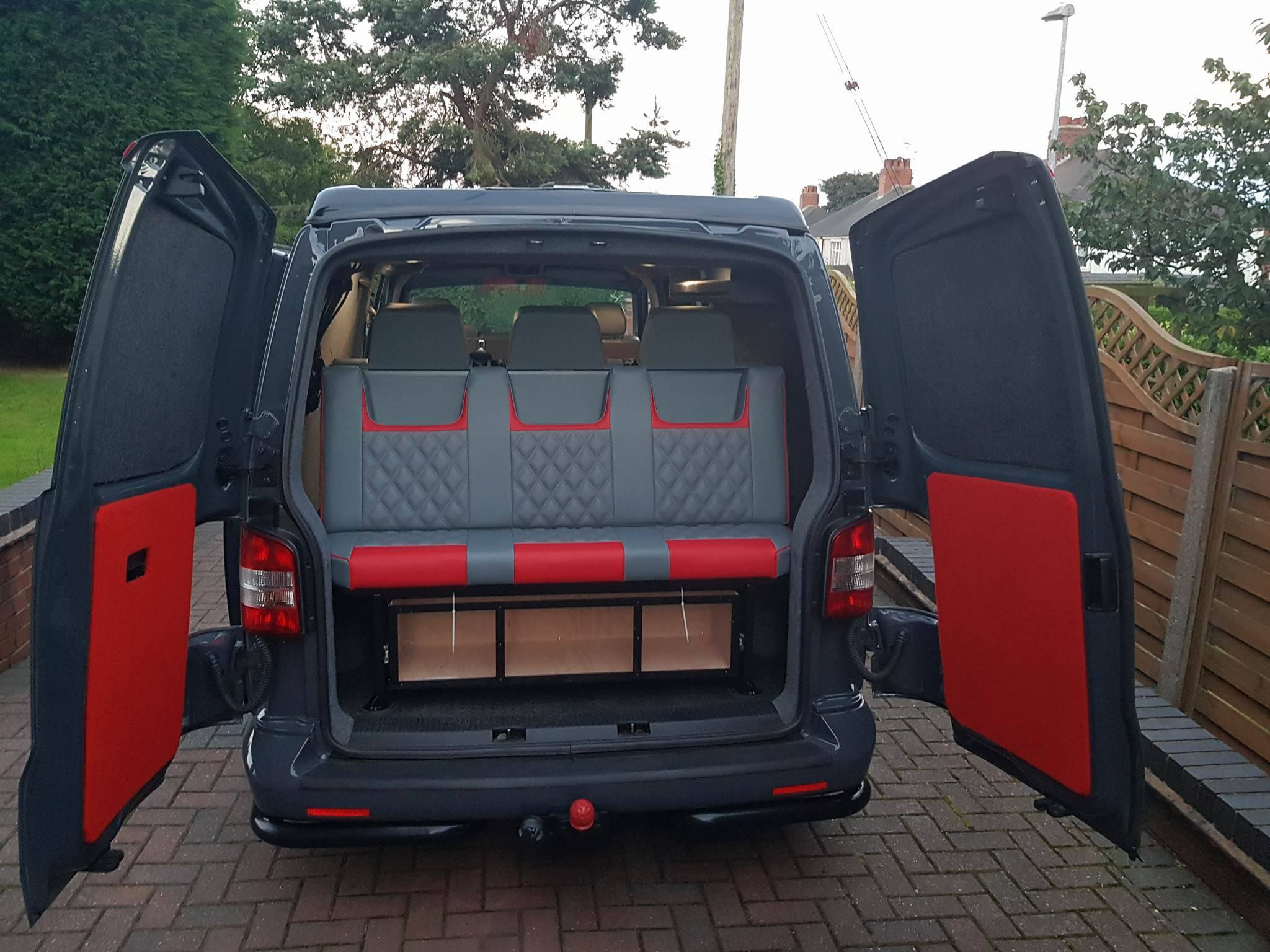 seats in van