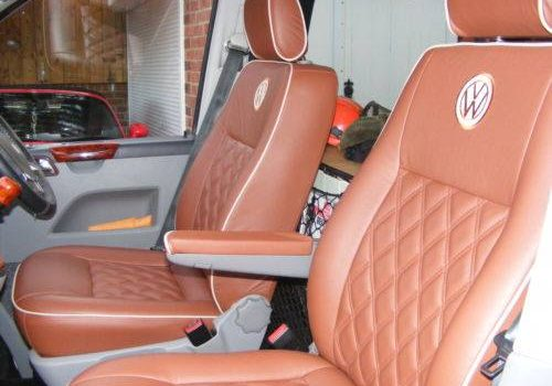 leather volkswagen seats